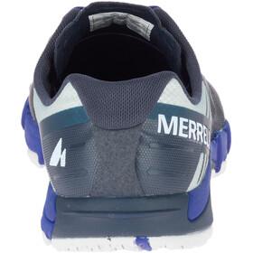 Merrell M's Bare Access Flex Shoes Blue Sport